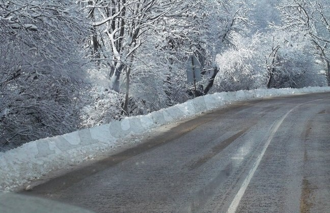 снежен път
