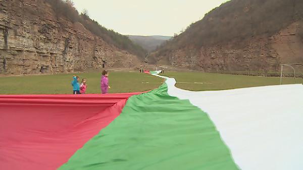 70-метрово знаме