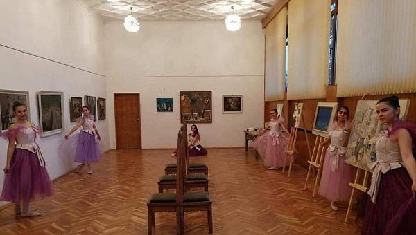 Изложба в ОДК